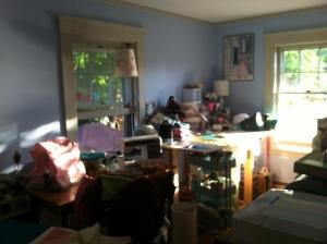 morning in the studio